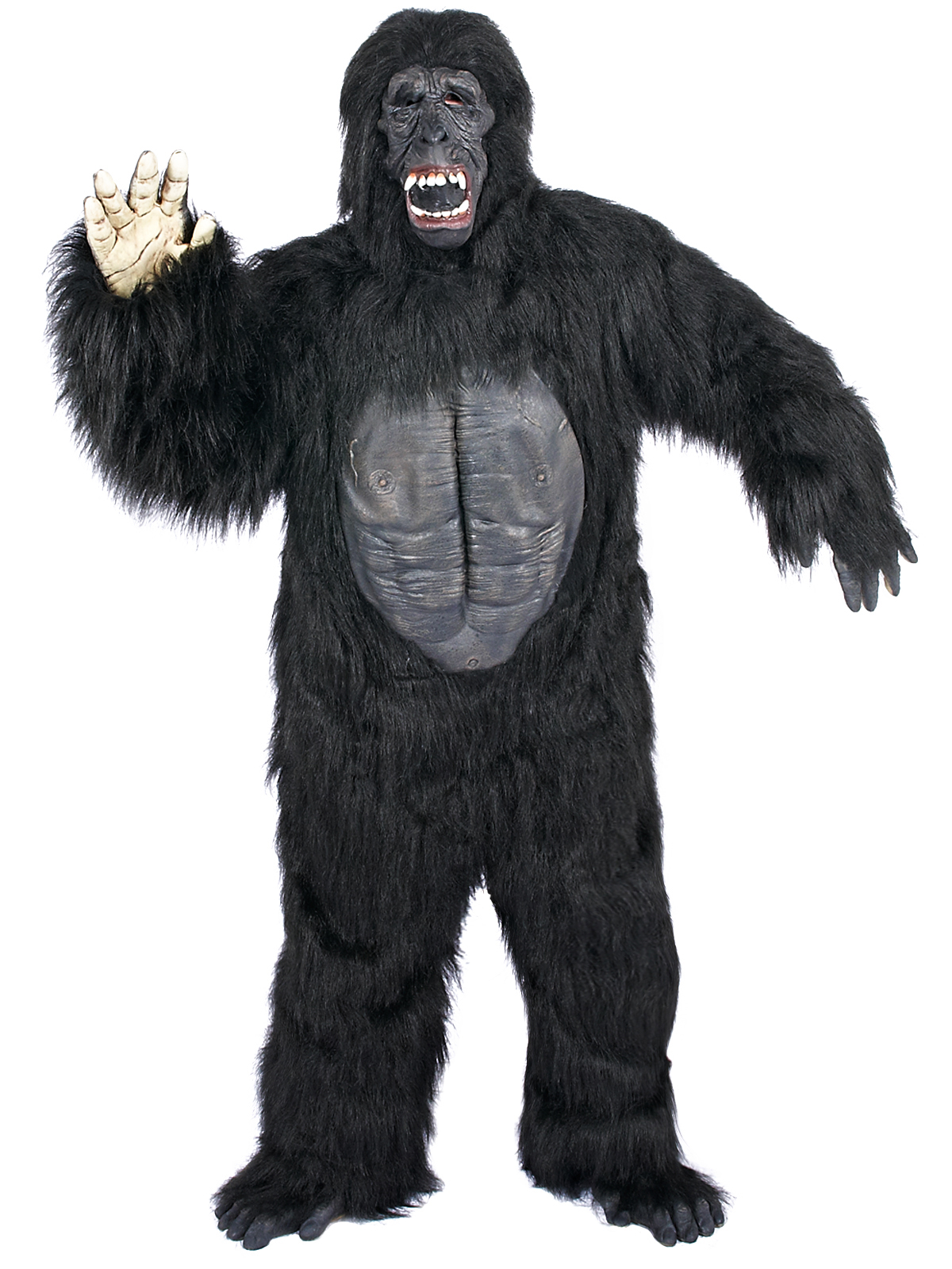 Gorilla With Chest Deluxe Adult Costume