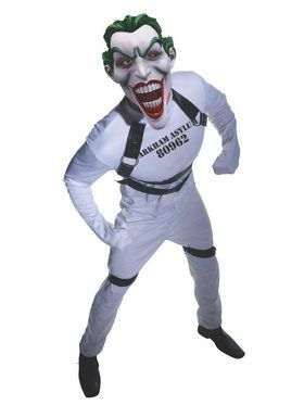 Adult Gotham's Most Wanted Straight Jacket Joker Costume