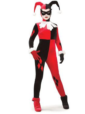 Gotham DC Comics Harley Quinn Costume For Adults