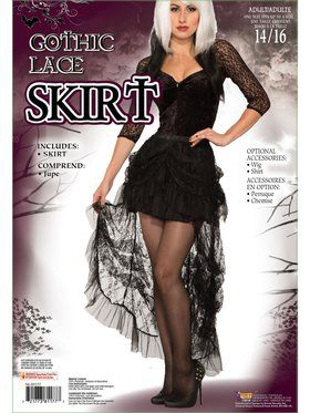 Adult Gothic Lace Skirt