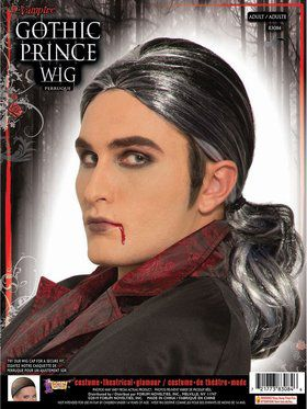 Gothic Prince Male Wig Accessory