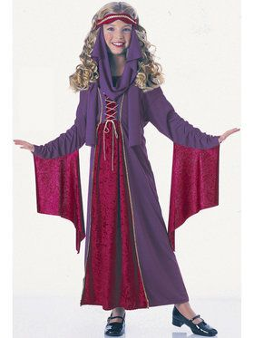 Gothic Princess Kids Costume