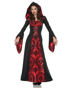 Gothic Scarlette Mistress Women's Costume