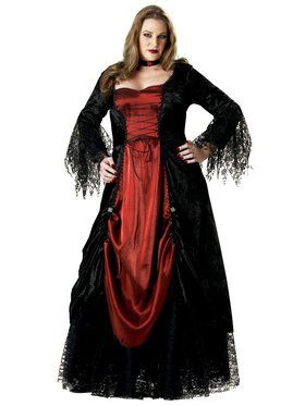 Gothic Vampiress Adult Plus Costume