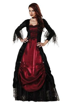 Gothic Vampiress Elite Adult Costume