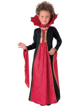 Gothic Vampiress Kids Costume