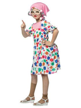 Granny Costume For Children