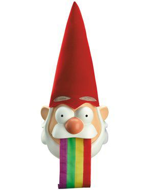 Gravity Falls Barfing Rainbow Gnome Mask