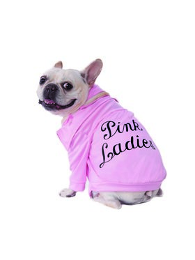 Grease Pink Ladies Jacket Costume for Pets