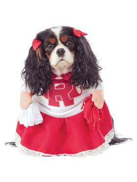 Grease Rydell High Cheerleader Dog Costume