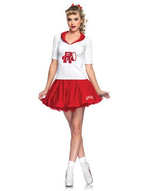 Grease Rydell High Cheerleader Sexy Costume