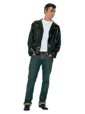 Greaser Jacket Adult Plus Size Costume