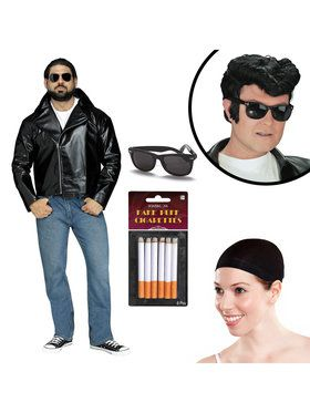 Greaser Costume Kit For Adults