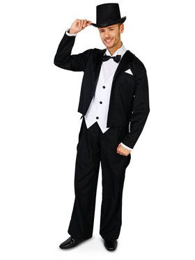 Adult Great Gatsby 1920's Tuxedo Costume For Adults