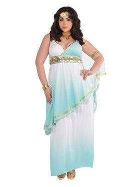 Grecian Goddess Plus Costume for Women