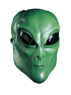 Green Extraterrestrial Mask