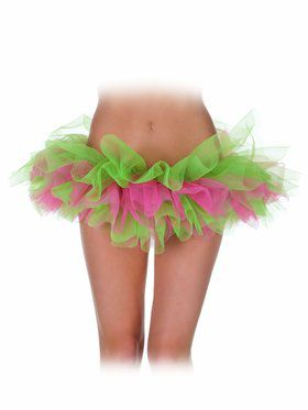 Green and Pink Women's Tutu
