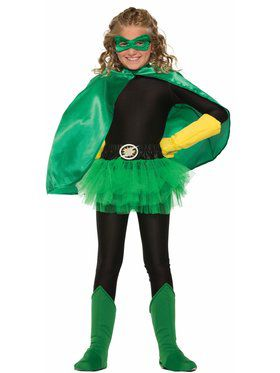 Green Cape for Child