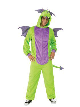 Comfy Wear Green Dragon Costume