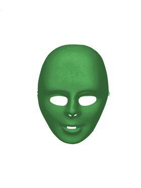 Green Face Mask Adult