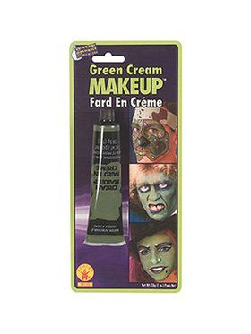 Green Halloween Makeup