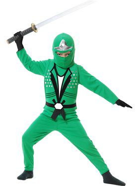 Green Ninja Avengers Series II Boys Costume