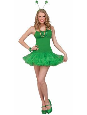 Green Petticoat Dress