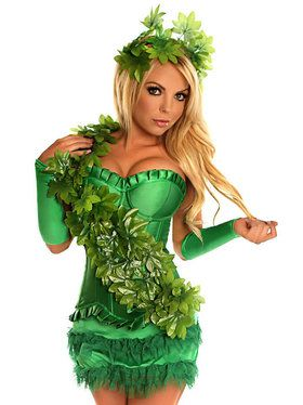 Green Poison Ivy Adult Costume