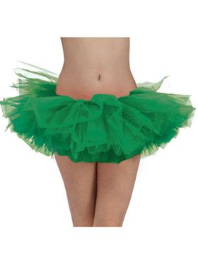 Green Tulle Womens Tutu