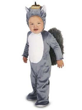 Grey Squirrel Costume For Babies
