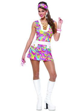 Groovy Chic Adult Costume