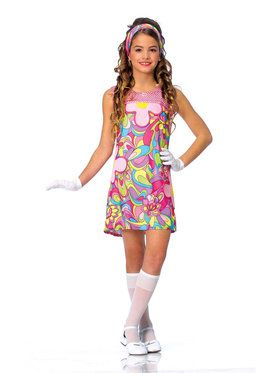 Groovy Girl Child Costume