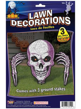 Ground Breaker Skeleton Lawn Prop