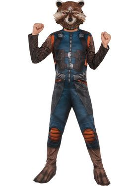 Guardians of the Galaxy Rocket Raccoon Costume For Children