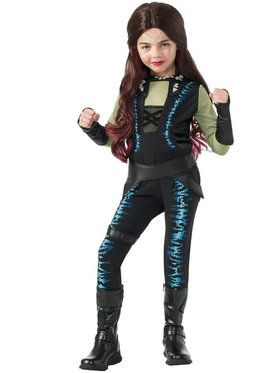 Guardians of the Galaxy Deluxe Gamora Girl's Costume