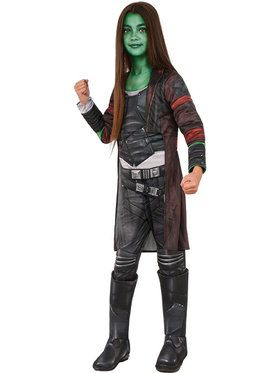 Guardians of the Galaxy Vol. 2 Deluxe Gamora Costume For Children
