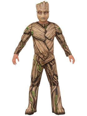 Child Deluxe Groot Costume - Guardians of the Galaxy Vol. 2