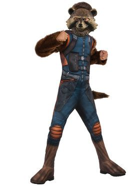 Child Deluxe Rocket Costume - Guardians of the Galaxy Vol. 2