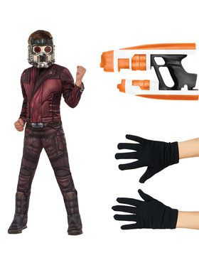 Guardians of the Galaxy Vol. 2 - Star Lord Deluxe Childrens Costume Kit