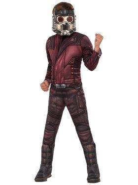 Guardians of the Galaxy Vol. 2 Deluxe Star-Lord Costume For Children