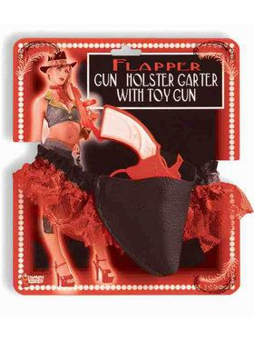 Gun and Garter Orange Costume