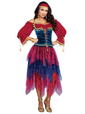 Gypsy Women's Adult Costume