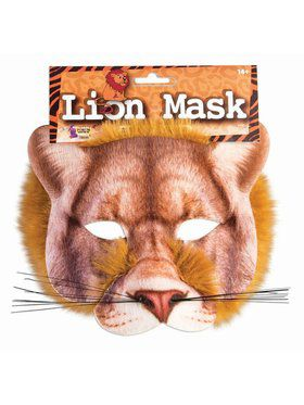 Half Mask Adult Lion