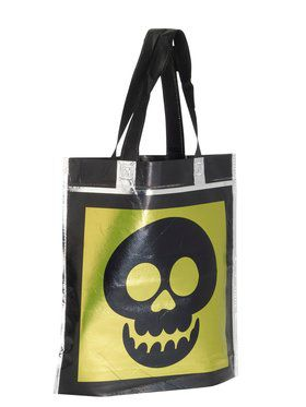 Halloween Metallic Accessory Treat Bags Three Assorted Styles