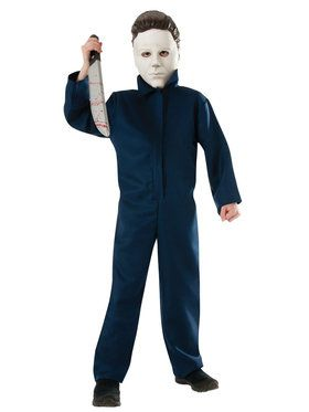 Halloween Michael Myers Costume For Children