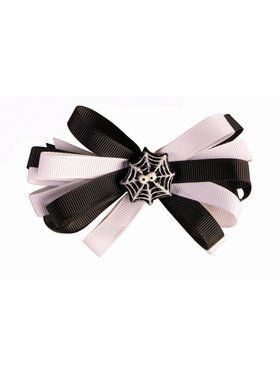 Halloween Spider Adult Bow Clip