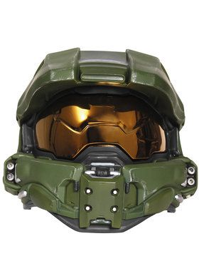 Adult Halo Master Chief Light-Up Deluxe Helmet