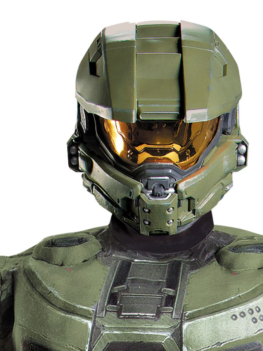 Halo Master Chief Full Helmet  sc 1 st  Wholesale Halloween Costumes & Halo Master Chief Full Helmet - Costume Accessories for 2018 ...