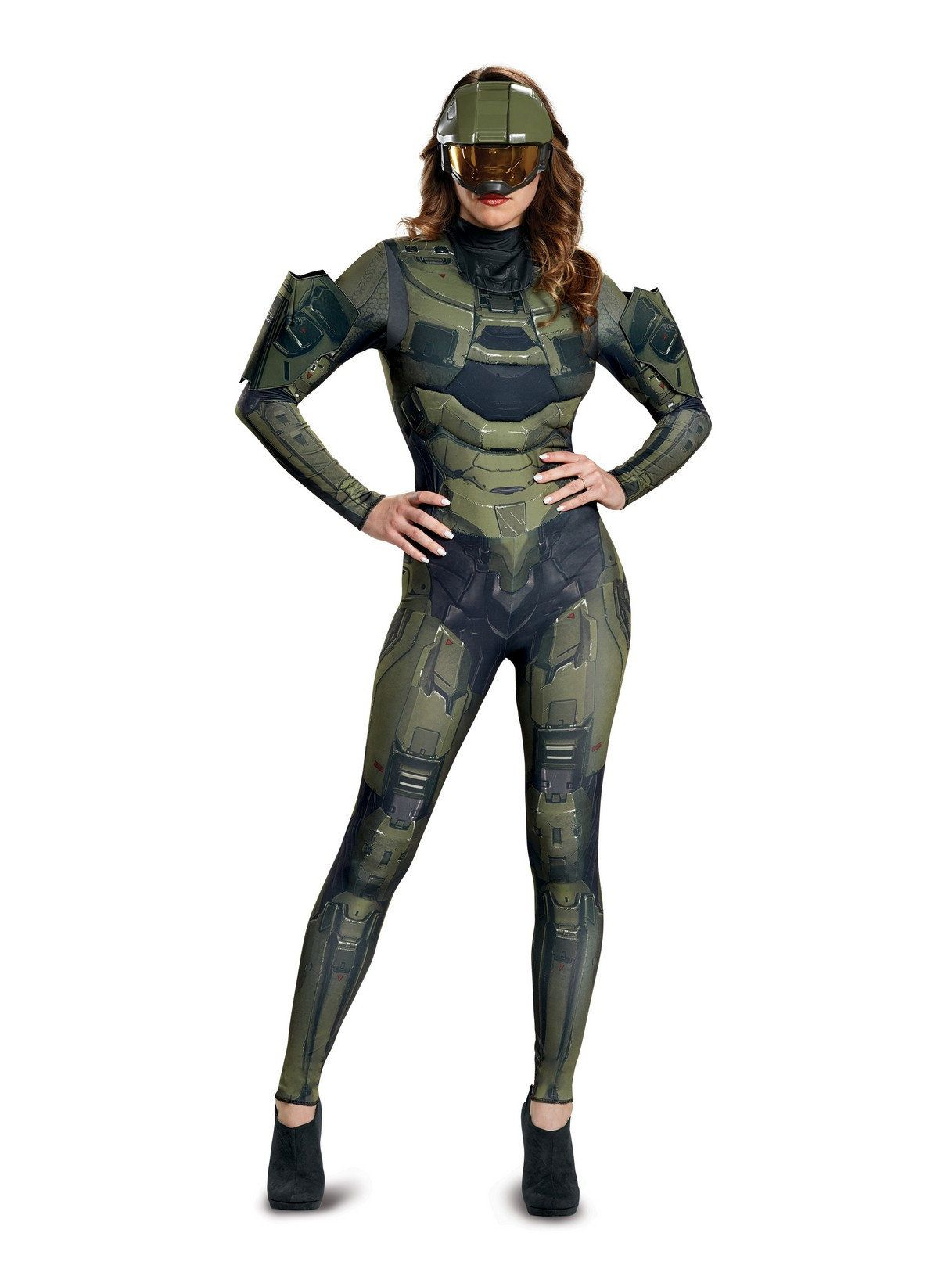 deluxe halo master chief adult costume for women