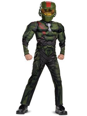 Halo Wars 2 Jerome Classic Muscle Costume For Children